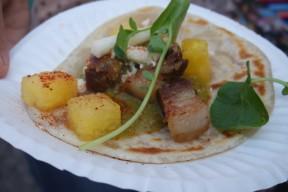 Tacos de Pork Belly from Amor y Taco - Tacolandia 2015