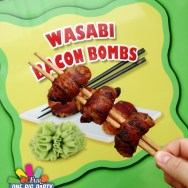 Wasabi Bacon Bombs