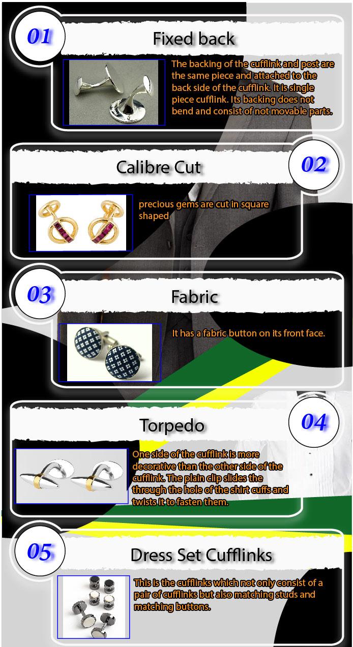 cufflink types