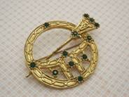 Annular Men's Brooches