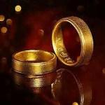 Buddhist Gold Rings for Men