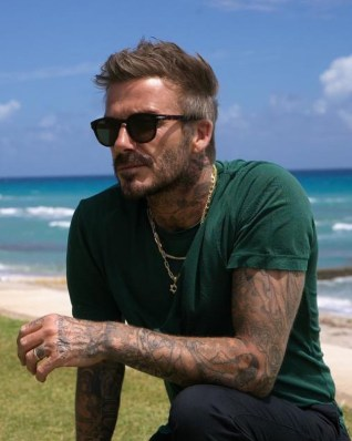 Simpson created an article that gave Beckham, the well-renowned soccer star, a metrosexual man.
