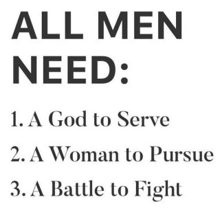 What is Biblical masculinity? What makes a man? What defines us?