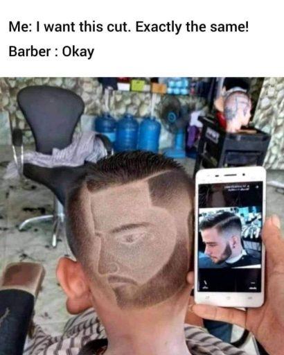 bad taper fade
