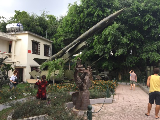 Surface to air missile, Hanoi