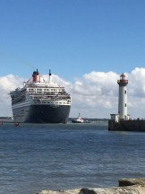 C2. Queen Mary 2 turning 24.6.17.