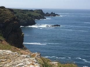 C3. View from clifftop, Beg Melan, Ile de Groix 10.6.17.
