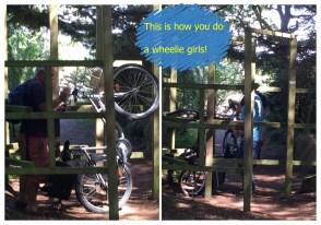 5. Boys do wheelies - Loctudy