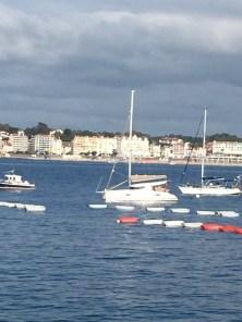 D2. Cuffysark anchored in St Jean De Luz 12.7.17.