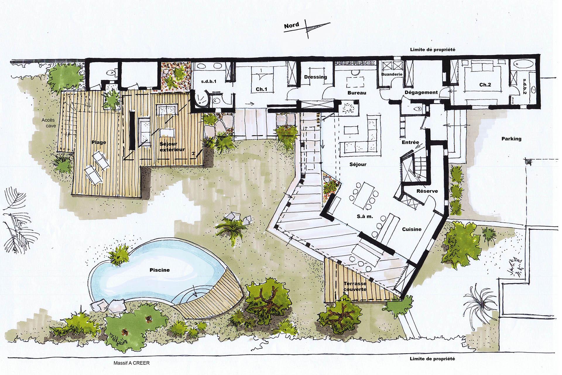 Creer plan de maison photos de conception de maison for Creer un plan de maison