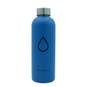 Bottiglia termica Drop blue CU | SEEYOU