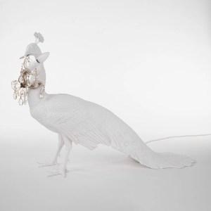 Peacock Lamp Seletti Spenta