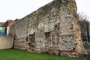 Roman Wall near Tower Hill tube station