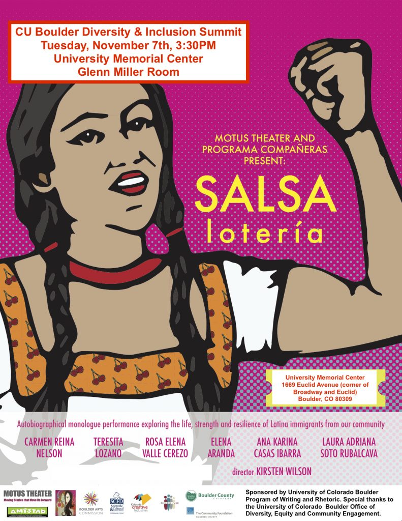 SALSA Lotería: A Glimpse Into CU Boulder's Diversity and Inclusion Summit