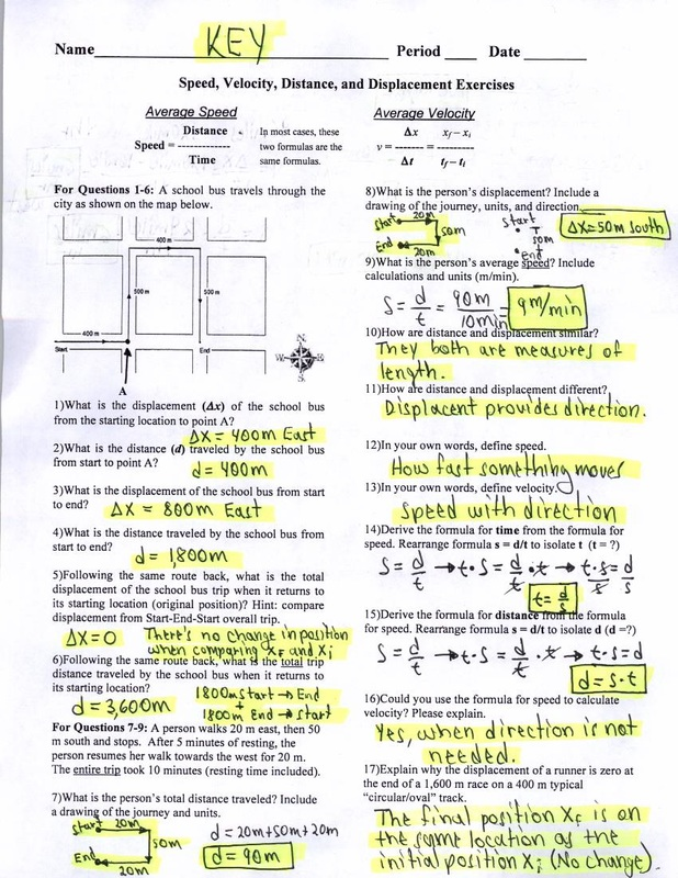 Distance And Displacement Worksheet Answers : distance, displacement, worksheet, answers, Distance, Displacement, Worksheet, Answer, Promotiontablecovers