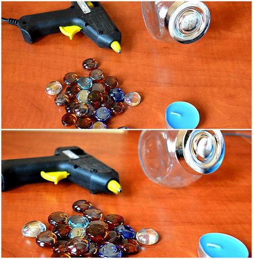 borcan de sticla decorat ce ai nevoie