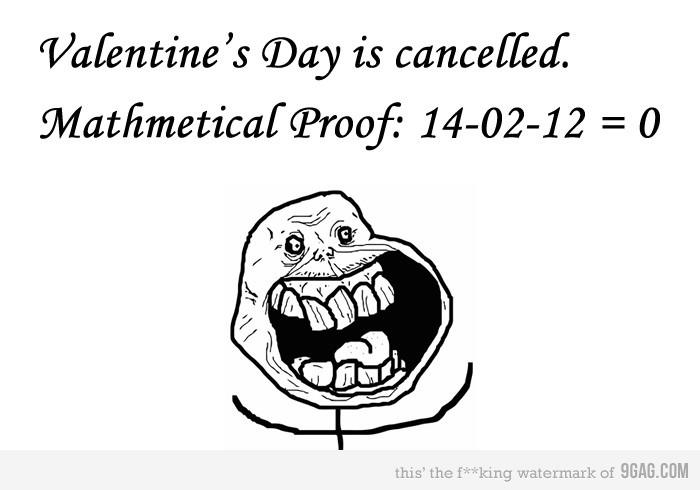 Valentine's Day is canceled