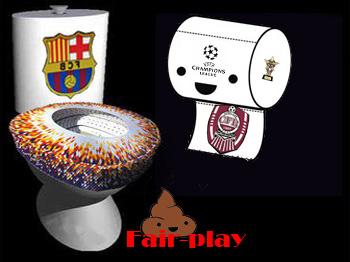 Barcelona si cfr aceeasi mizerie