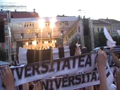 """U"" Cluj prezentare lot 2011-2012"