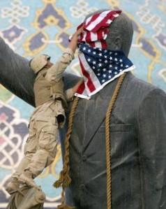 sadam estatua