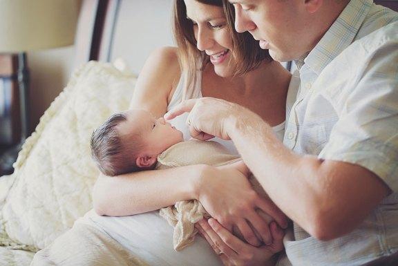 padres y bebe
