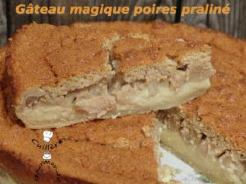 gateau-magique-poire-praline