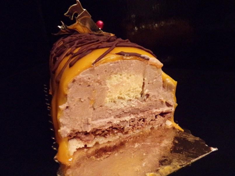 bûche chocolat grand marnier