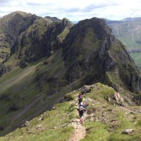 Day 5 - Aonach Eagach: feet in fresh air