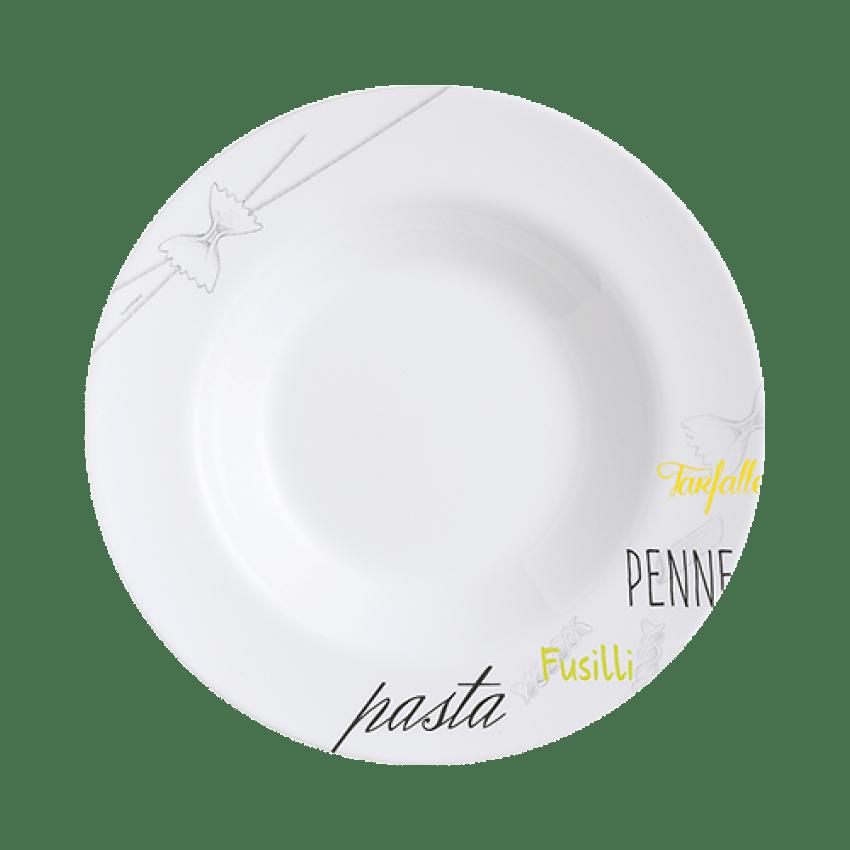 assiette a pates 28 5 cm friend s time bistro