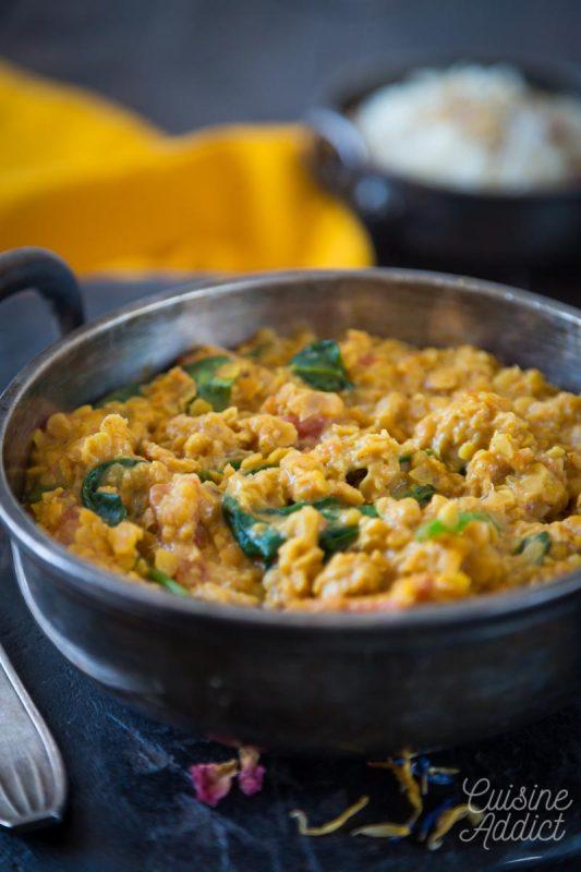 Lentilles Corail à L'indienne : lentilles, corail, l'indienne, Lentilles, Corail, Recette, Indienne