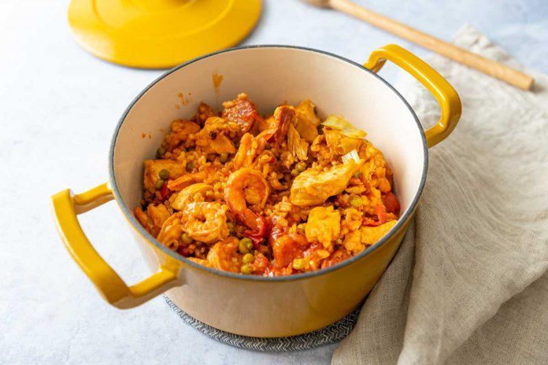 riz a l espagnole recette facile au