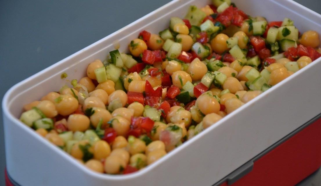 Salade de pois chiches façon taboulé libanais