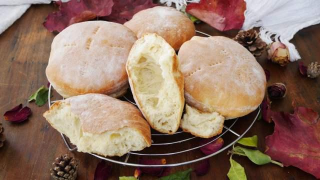 Pains réalisés avec la préparation culinaire orientale Milia