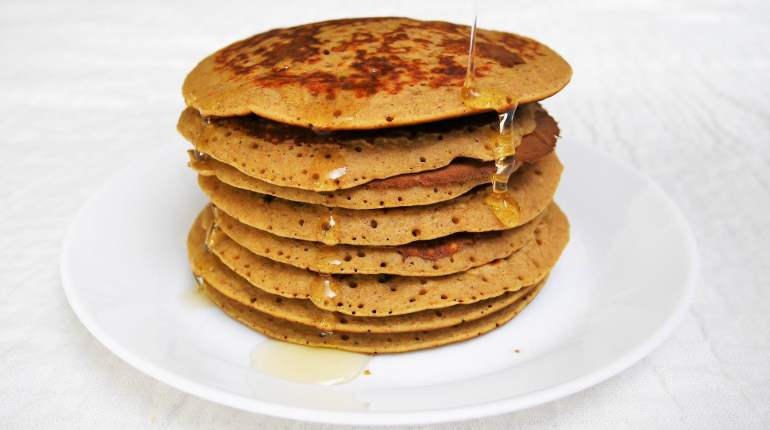 pancakes sans gluten healthy