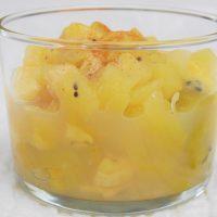 Compote de fruit avec le blender chauffant Cook'n Mix de Silvercrest