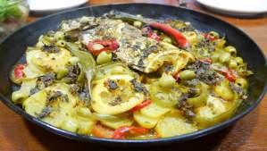 Dorade royale au four, recette marocaine