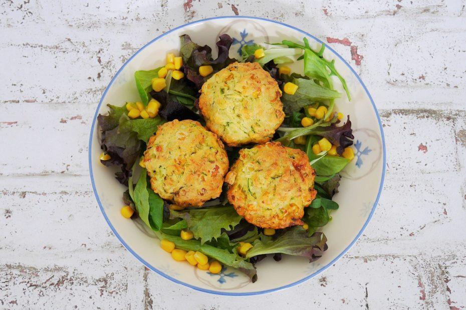 muffin de courgette et maïs du livre de dorian nieto