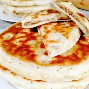 Recette indienne de naan au fromage