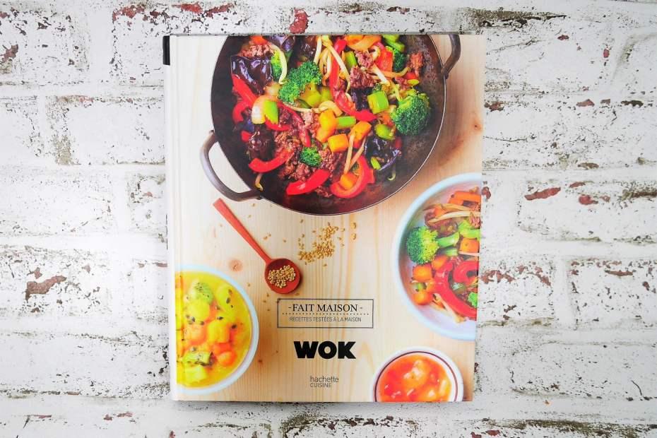 Livre wok de Audrey Le Goff