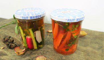 Comment faire de pickles de légumes?