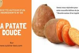 Patate douce, jeu autour d'un ingrédient