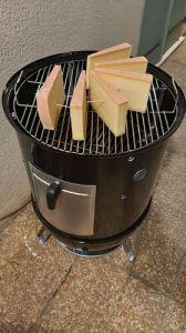 smokey mountain cooker 47 barbecue weber et comté fumé à froid