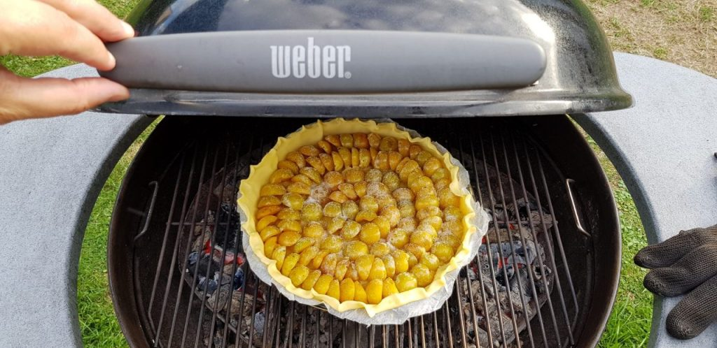 barbecue weber à charbon de bois