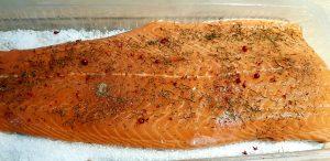 saumon fumé à froid fumoir à froid weber