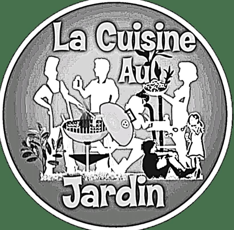 Logo blog la cuisine au jardin plancha et barbecue