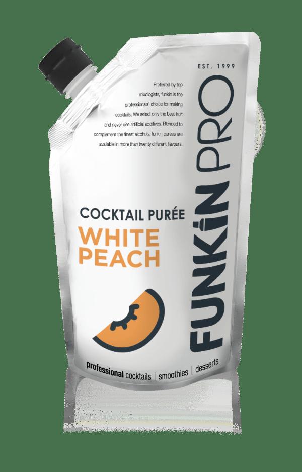White Peach Cocktail Puree