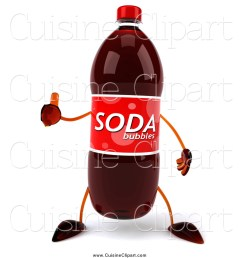 cuisine clipart of a 3d soda bottle character giving a thumb up [ 1024 x 1044 Pixel ]