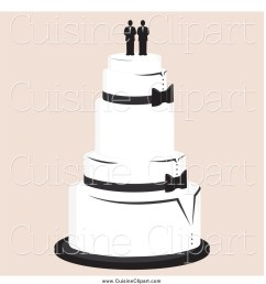cuisine clipart of a wedding cake with a gay topper [ 1024 x 1044 Pixel ]