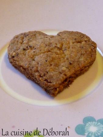 Coeurs aux noisettes, Biscuits de Noël   Cuisine de Deborah