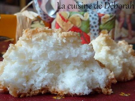 Rochers à la noix de coco    Cuisine de Deborah